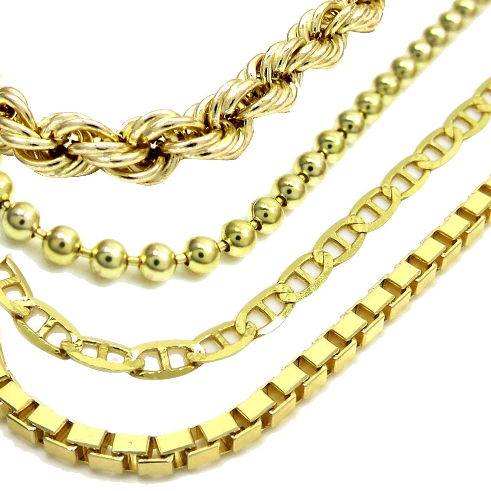PAYING CASH FOR GOLD - gold chains and necklaces